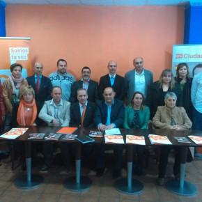 Ciudadanos ha presentado oficialmente en Valencia de Don Juan al equipo que disputará la alcaldía a Martinez Majo