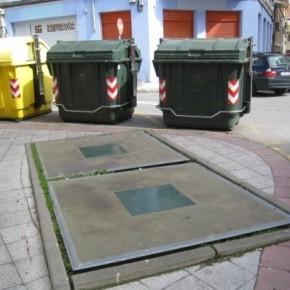 C´s exige una solución para los contenedores soterrados de la Avenida Alvaro López Nuñez
