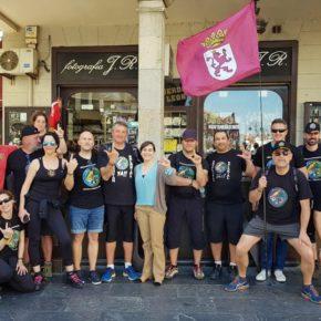 Ciudadanos manifiesta su apoyo a Jusapol a su paso por León y Provincia en la marcha que reivindica la igualdad salarial