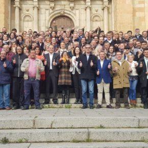 Ciudadanos León cuadruplicalas candidaturas a las elecciones municipales que alcanza 70 ayuntamientos y pedanías