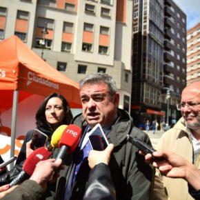 Justo Fernández (Cs) interroga por el proyecto para la construcción de una rotonda en el Cruce de Montejos del Camino en la N-120