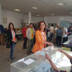 """Ana Carlota Amigo (Cs): """"Animamos a todas las personas a que voten con ilusión por el cambio que hace falta en Castilla y León"""""""