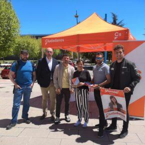 Villarroel destaca que Ciudadanos busca generar empleo de calidad y evitar el éxodo de los jóvenes leoneses