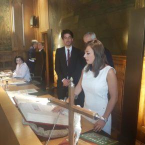 """Gemma Villarroel: """"Ciudadanos peleará por resolver los problemas y atender a los pueblos de la provincia de León"""""""