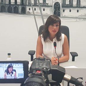 """Gemma Villarroel: """"Semipeatonalizar Ordoño II ahora es una improvisación, una chapuza y un capricho del alcalde"""""""