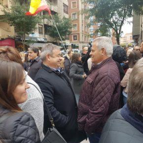 Ciudadanos apoya a las fuerzas y cuerpos de seguridad de León desplazados en Cataluña