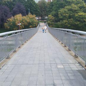 Cs reclama la modificación de las pendientes de la pasarela de la Condesa para cumplir los criterios de accesibilidad