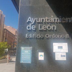 Ciudadanos rechaza que Diez destine recursos para inversión pública en lugar de proteger el tejido empresarial de León