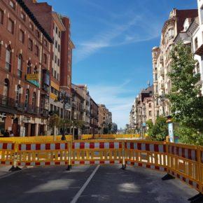 """Cs recrimina al alcalde el """"desmadre""""de Ordoño"""" cuando dijo que las obras tendrían un mínimo impacto"""